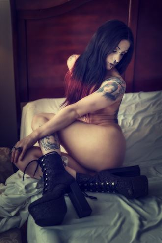 kalia artistic nude photo by photographer al gagnon