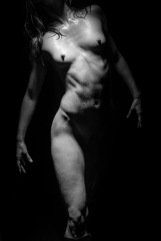 kara in contrast artistic nude photo by photographer 2photographics
