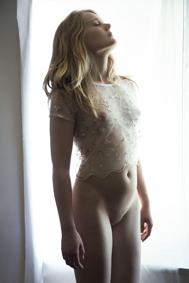 karima 17 artistic nude photo by photographer george ekers