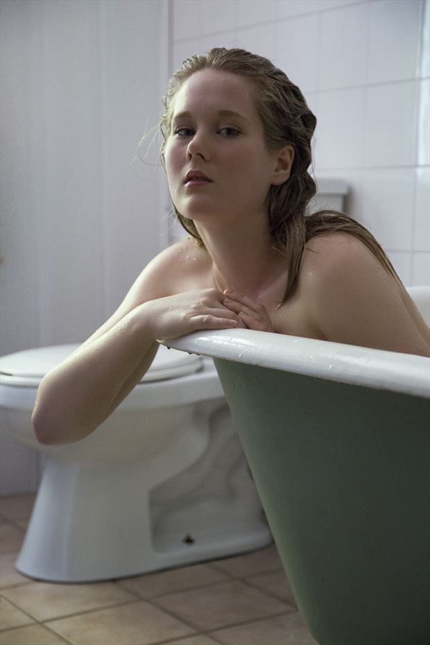 karima 20 artistic nude photo by photographer george ekers