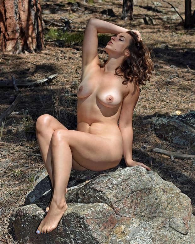 karly salinas forest nude artistic nude photo by photographer bearcreekphoto