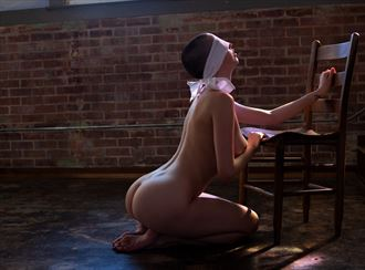 kat blindfold artistic nude photo by photographer dpdodson
