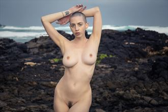 kat malone siren of the sea artistic nude photo by photographer joey odouls