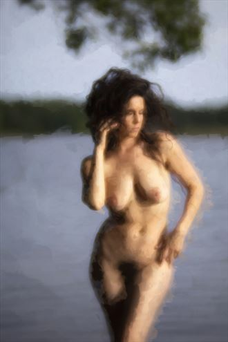 kelsey in river artistic nude photo by photographer autumnbearphoto