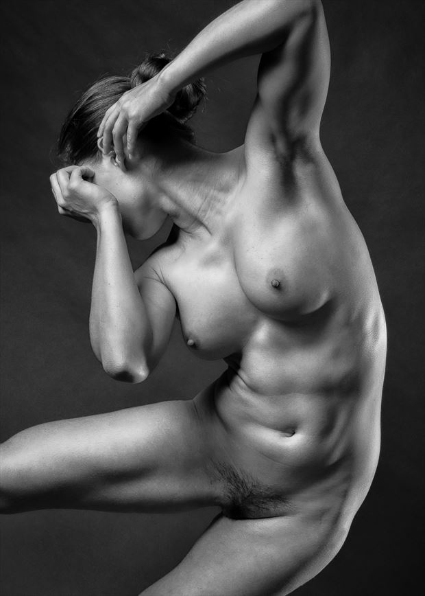 killer torso artistic nude photo by photographer rick jolson