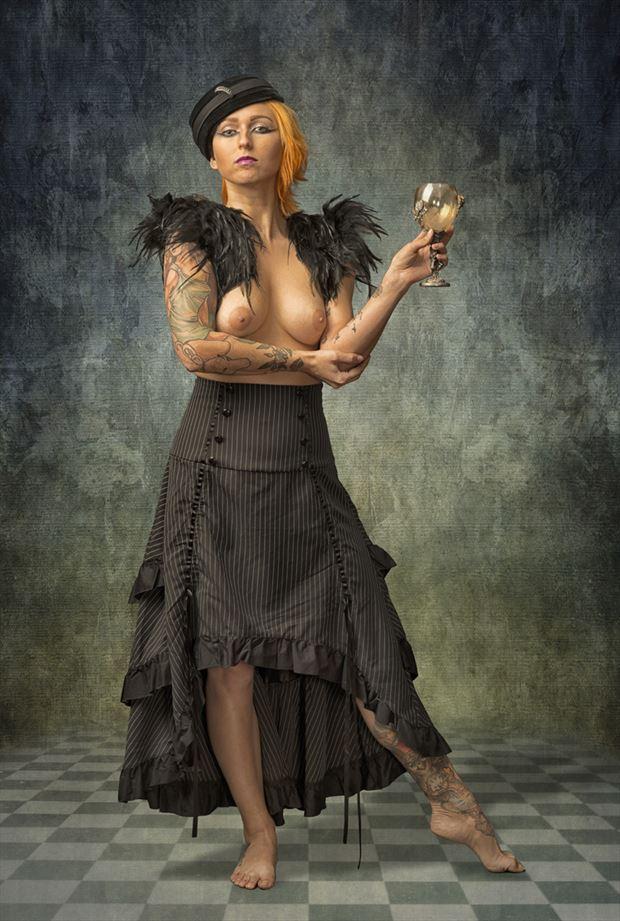 kirstin erotic photo by photographer tom gore