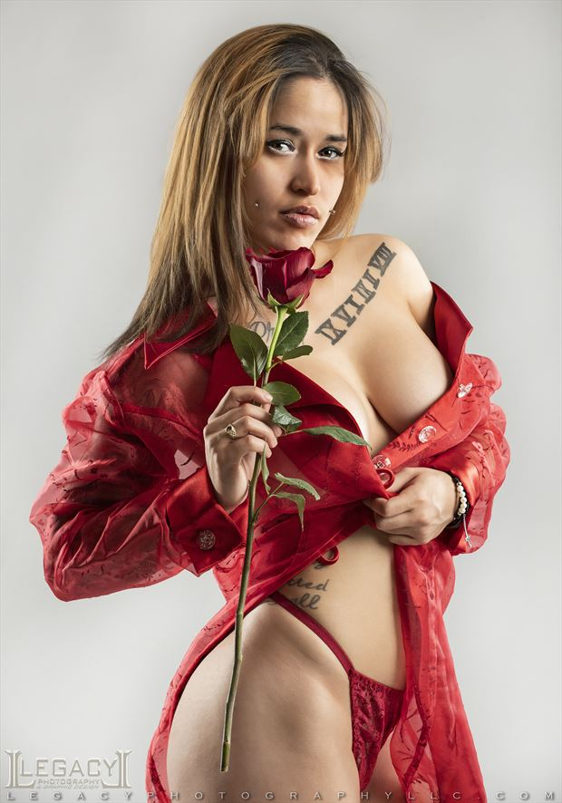 kissed by a rose lingerie photo by photographer legacyphotographyllc