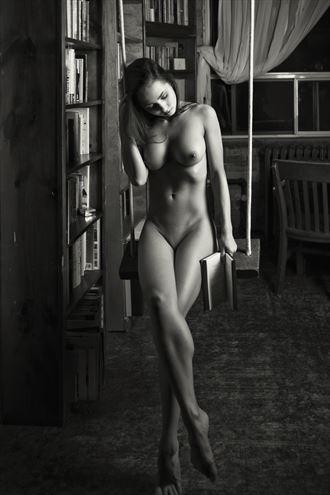 kitti k studied too hard artistic nude photo by photographer bemymuse