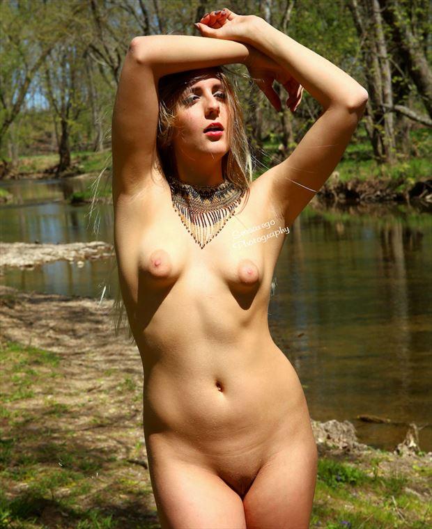 klair artistic nude photo by photographer alan james
