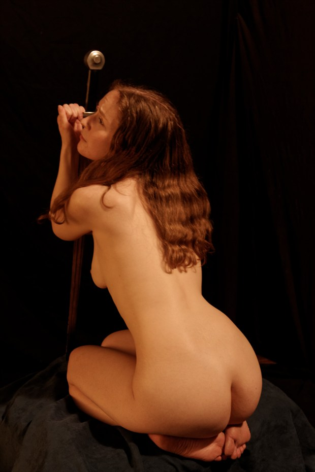 kneeling nude  Artistic Nude Photo by Photographer Fred Scholpp Photo