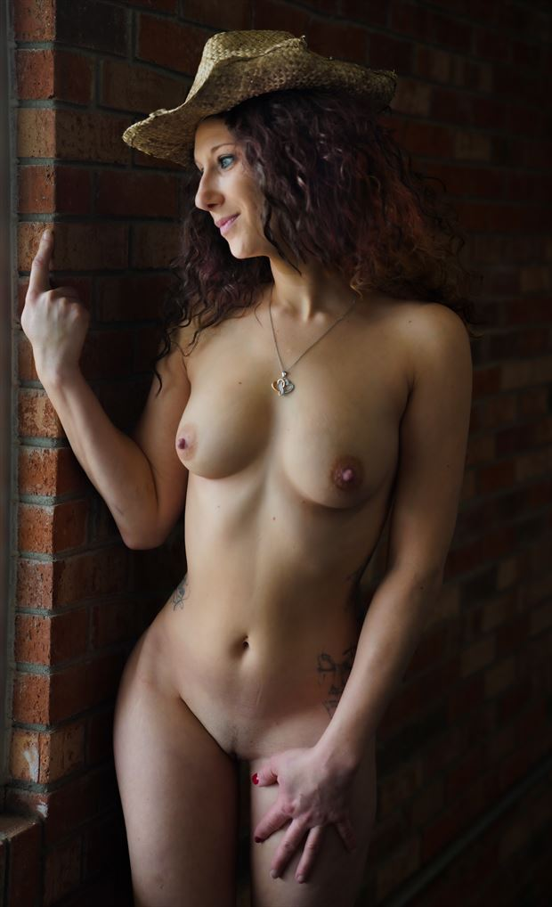 krissy in the window artistic nude photo by photographer sparklephotosc