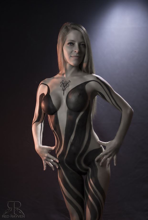 kristen body painting photo by photographer red rayven