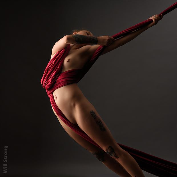 kristina in the silks tattoos photo by photographer yb2normal