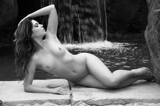 kristy waterfall artistic nude photo by photographer thomasvincentphoto