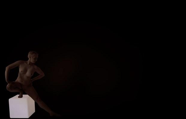 kubus 4 Artistic Nude Artwork by Photographer Robert Esseboom