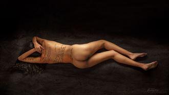 l %C3%A9critoire oph%C3%A9lie 1 artistic nude photo by photographer claude frenette