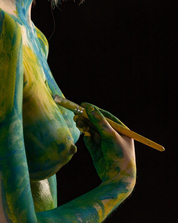 la toile artistic nude photo by photographer claude frenette