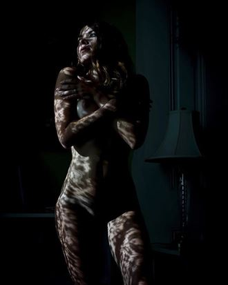 lace up artistic nude photo by model missmissy