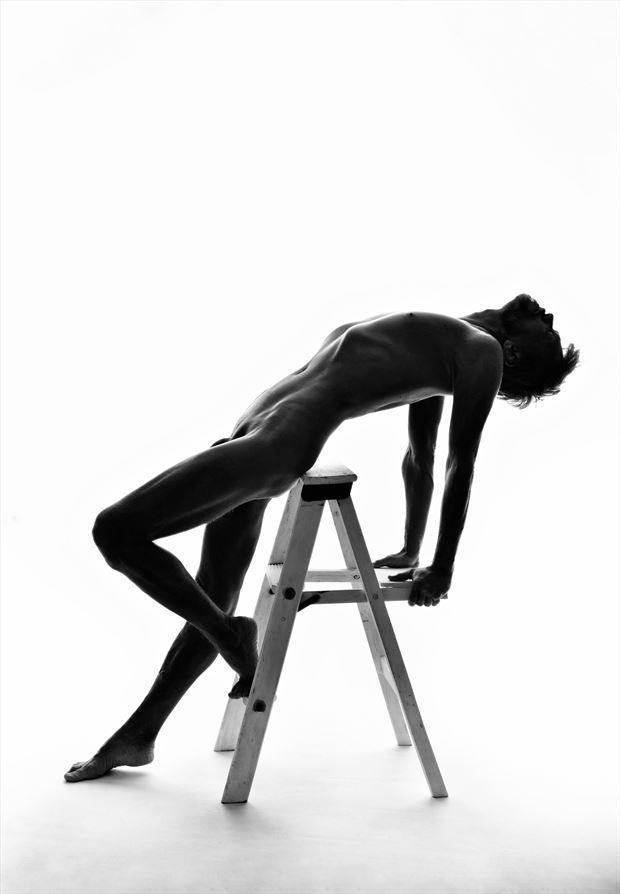 ladder logic artistic nude photo by photographer r pedersen