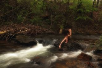 lady of the creek sensual photo by model ladycrystalrose