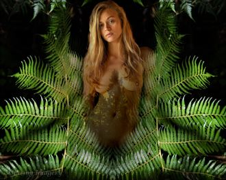lady of the forest artistic nude photo by photographer aspiring imagery