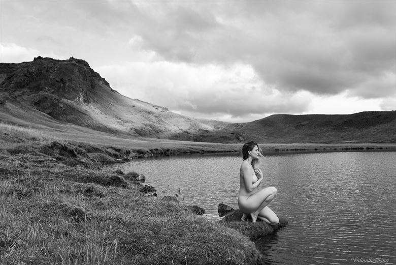 lady of the lake artistic nude photo by model satya