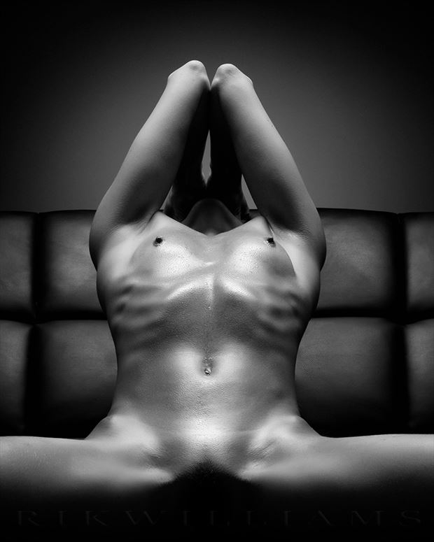 laid bare artistic nude photo by photographer rik williams