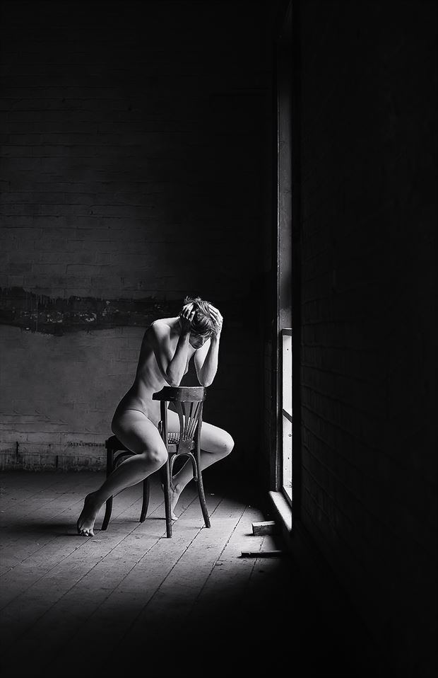 last to know artistic nude photo by model marmalade