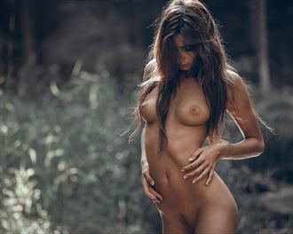 latvian forest artistic nude photo by photographer sauliuske