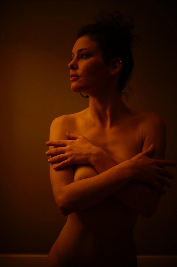 laura quigly Artistic Nude Artwork by Model chikara moth