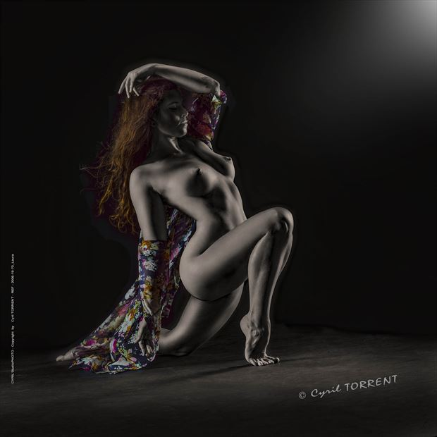 laura70 artistic nude artwork by photographer cyril torrent