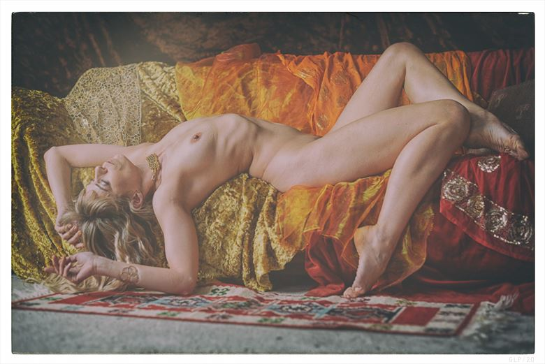 lazy hazy days artistic nude photo by photographer ghost light photo