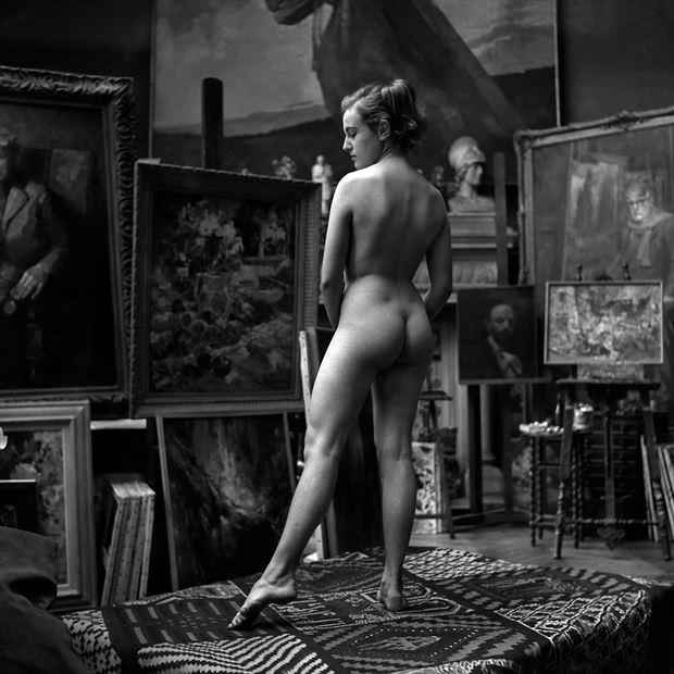 le mod%C3%A9le paris 1957 artistic nude photo by artist jean jacques andre