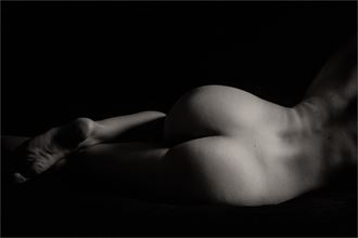 leah artistic nude photo by photographer dave belsham