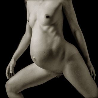 leaning into the now artistic nude photo by artist tzoltecart