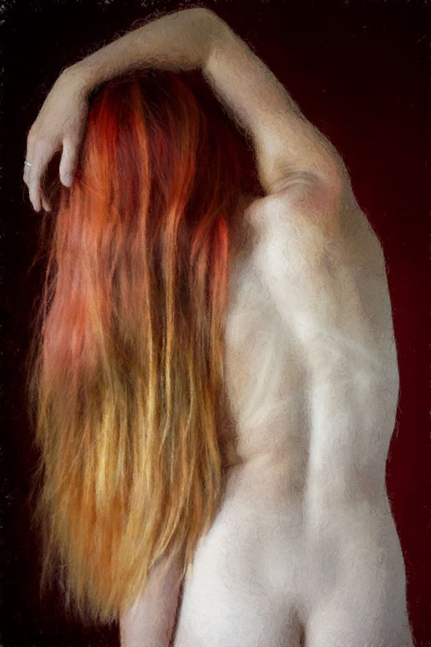 leaning left artistic nude photo by photographer imageguy
