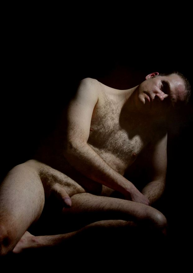 leaning on shoulder 2013 artistic nude photo by model thomas lundy
