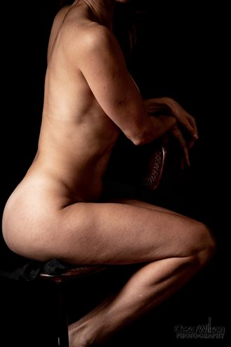 leather on leather artistic nude artwork by photographer borsalino