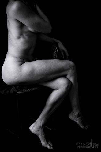 leather on leather ii artistic nude artwork by photographer borsalino