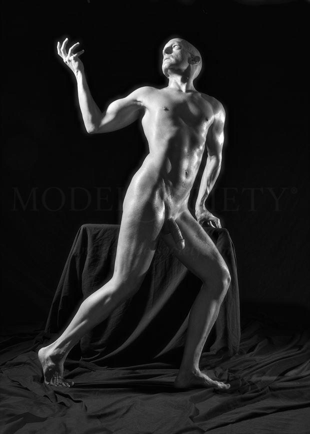 leave the past behind artistic nude photo by model avid light
