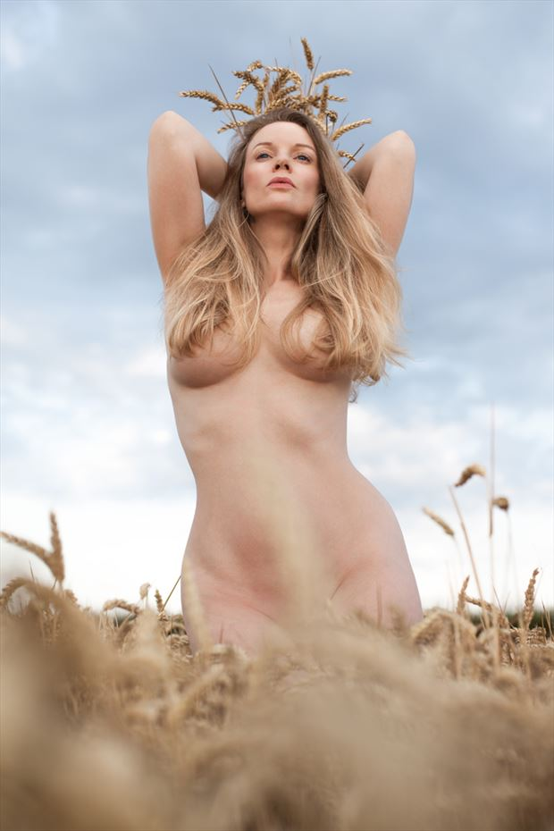 legend of demeter artistic nude photo by model muse