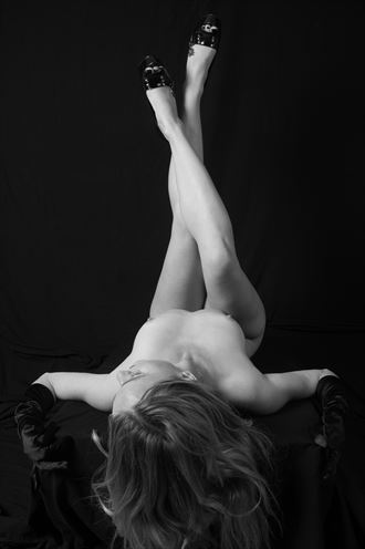 legs up artistic nude artwork by photographer northernindianafoto