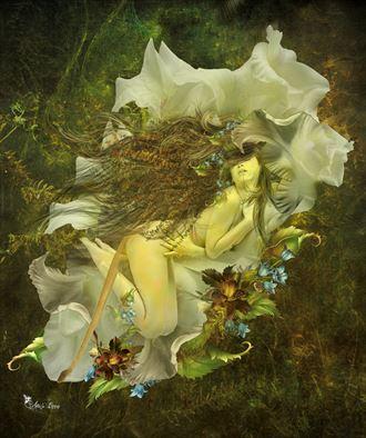 leo 2021 fantasy artwork by artist digital desires