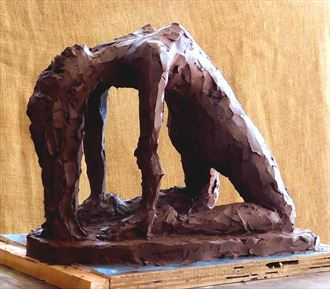 let there be life figure study artwork by artist roger burnett