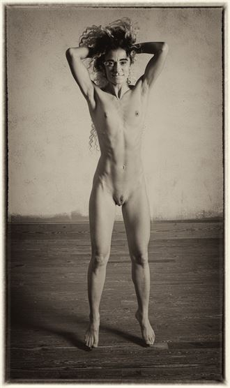 levitation artistic nude photo by photographer studio2107