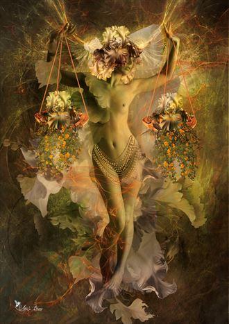libra 2021 fantasy artwork by artist digital desires