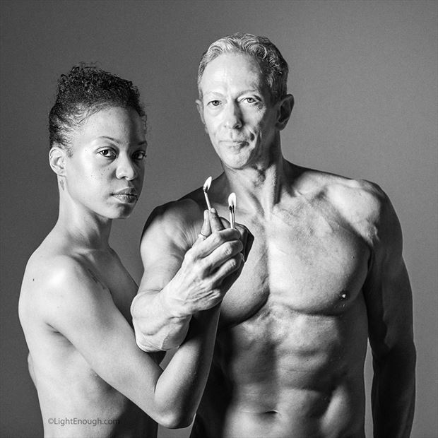 light a fire of change couples photo by model artfitnessmodel