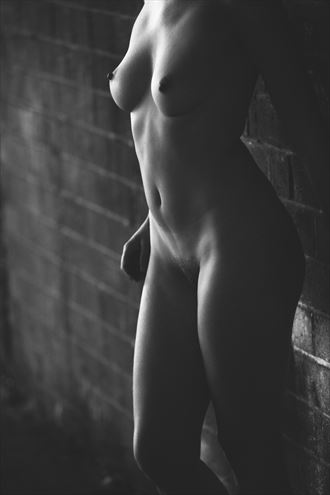 light and dark artistic nude photo by photographer josephbowman