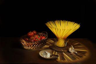 light spaghetti chiaroscuro photo by photographer chris broadhurst
