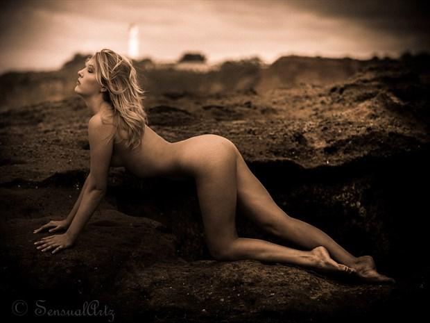 lighthouse Artistic Nude Photo by Photographer Sensual Artz